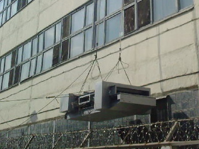 монтаж конструкций