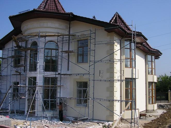 отделка мокрых фасадов