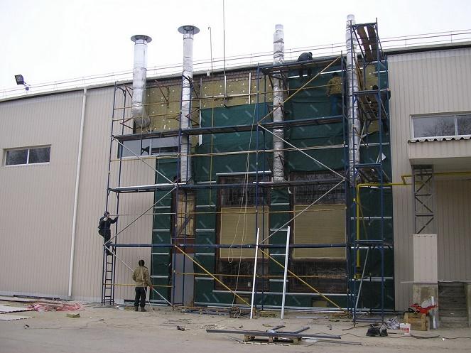 реконструкция промышленных объектов