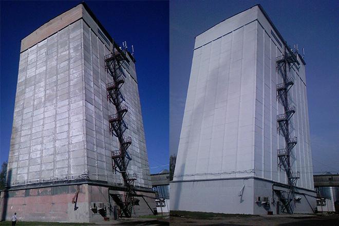 Фото ремонта межсоговых швов
