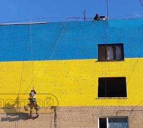 Креативная отделка и окраска фасадов в Харькове