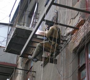 Реконструкция и мантаж конструкций на высоте