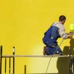 Метод безвоздушного распыления при проведении высотных работ