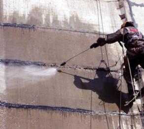 ремонт фасада элеватора
