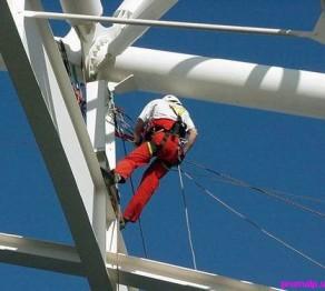 работа промышленных альпинистов