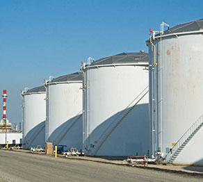 покраска резервуаров нефтепродуктов