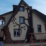 Современный дизайн наружной отделки фасадов
