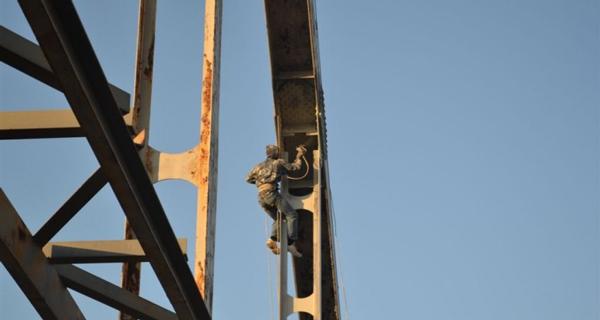 Антикоррозийная обработка металлических конструкций на высоте