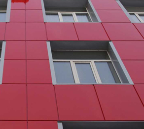Навесной вентилируемый фасад из металла