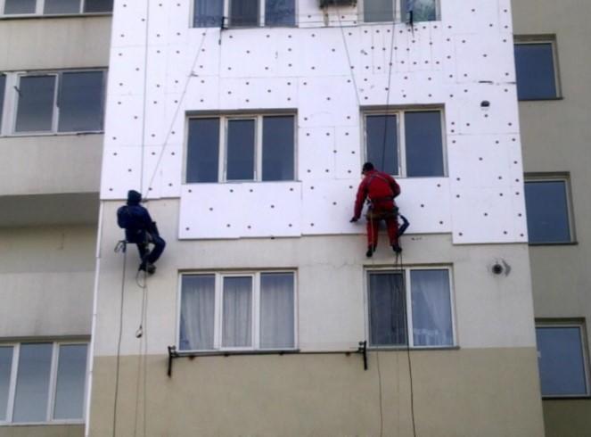 Расчет толщины утепление фасада панельного дома