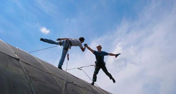 Стоимость работ промышленных альпинистов в Харькове