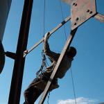 Промышленный альпинизм – однотросовая техника в промальпе
