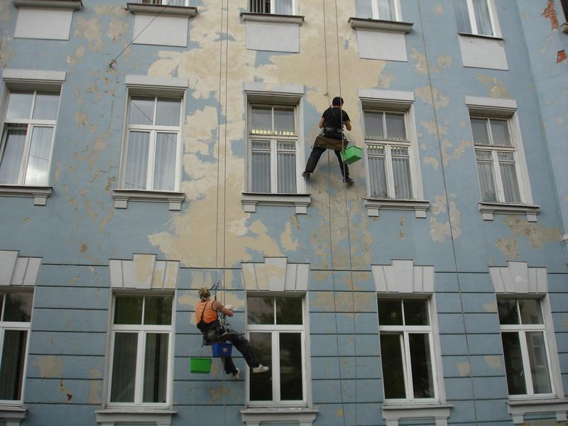 Ремонт фасадов во владивостоке