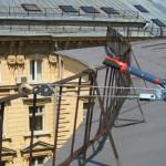 Высотные работы по испытанию и ремонту ограждений кровли крыш