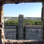 Ремонт фасада элеватора — замена старых окон