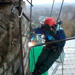 Нестандартные высотные работы: сварка и демонтаж труб