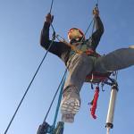 Техники подъема в промышленном альпинизме и высотных работах
