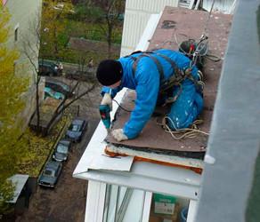 Гидроизоляция крыши - промышленный альпинизм
