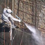 Гидроструйная очистка – стен, фасадов зданий