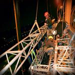 Монтаж строительных конструкций на высоте — основные методы работы