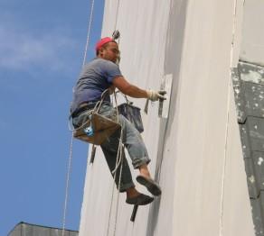 Ремонт фасадов зданий, высотные работы