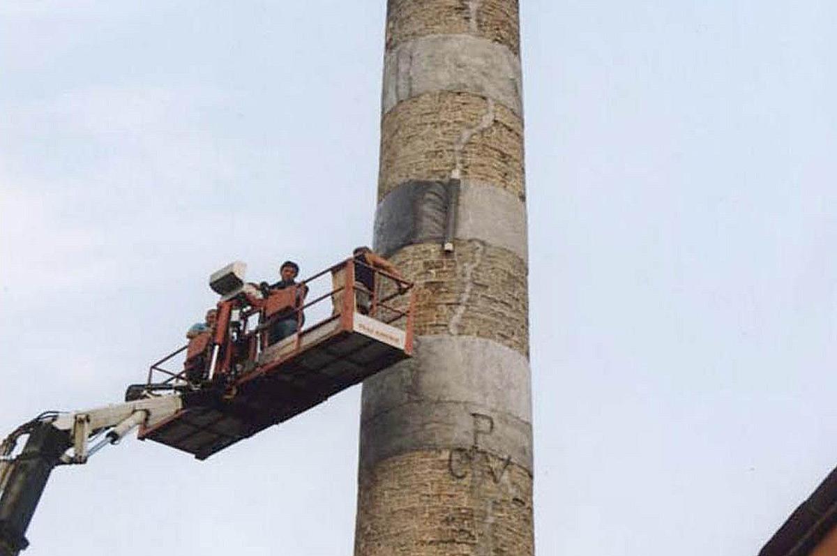 Монтаж и демонтаж дымовых труб