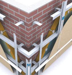 устройство вентилируемого фасада из керамогранита