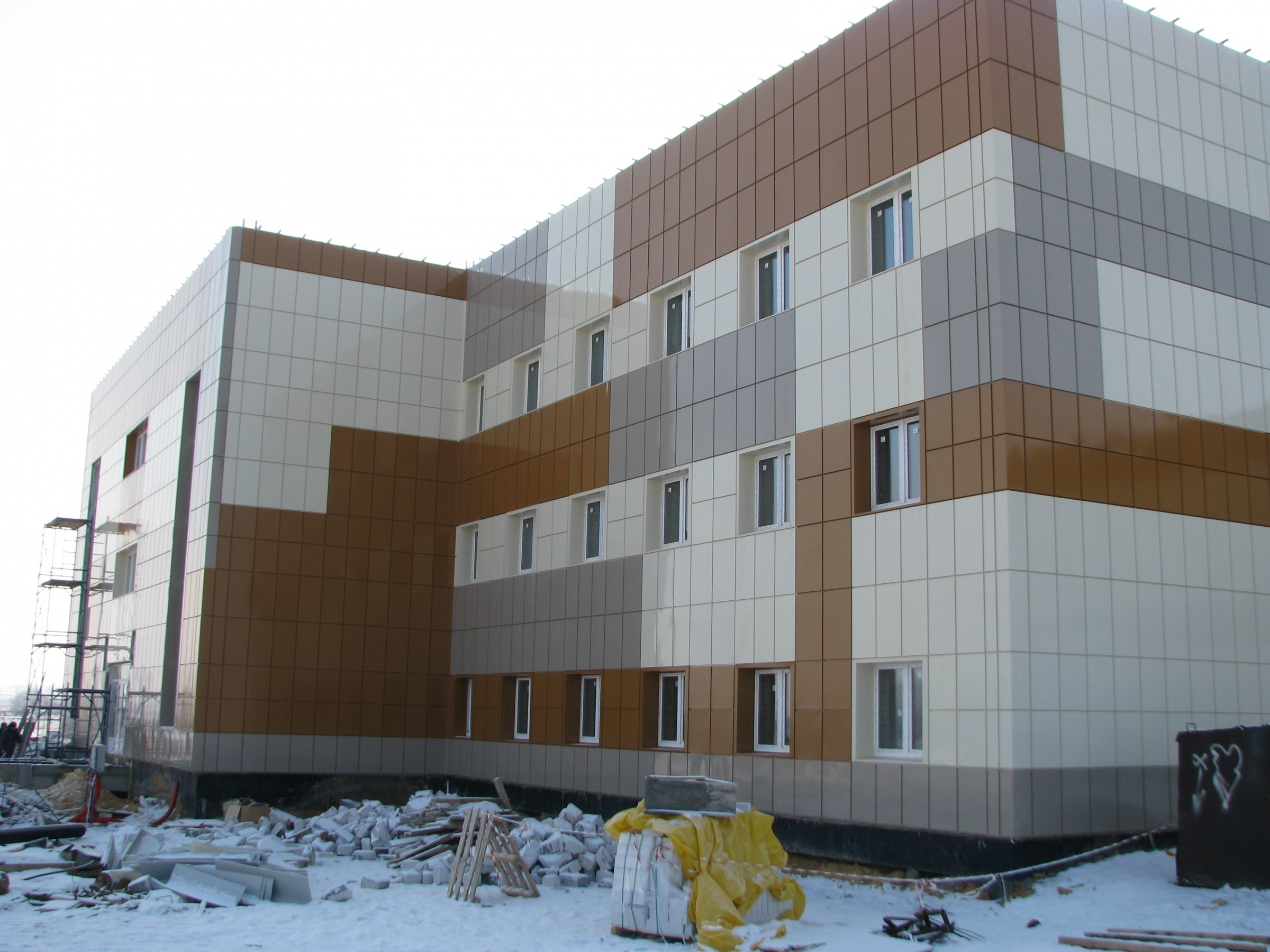Технология устройства вентелируемого фасада