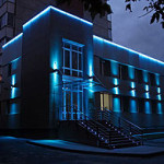 Уникальные фасады с помощью подсветки зданий и сооружений